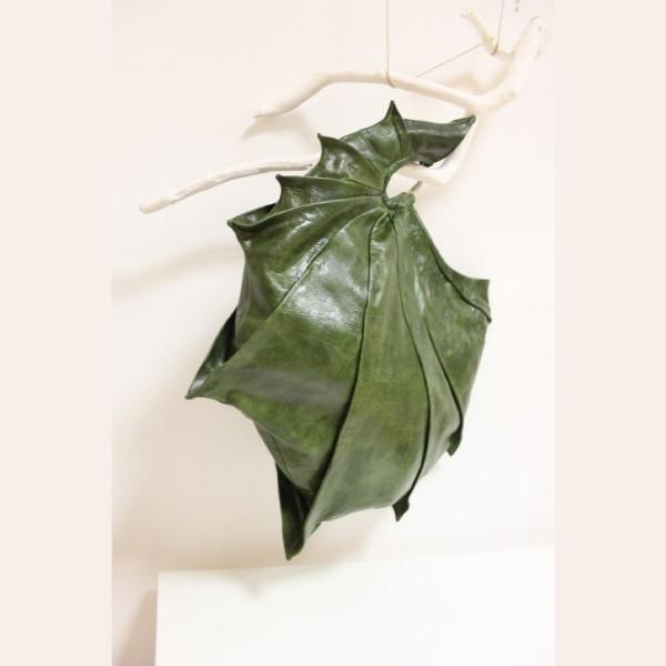 """Сумка-клатч  """"Наутилус """" из натуральной кожи, авторская работа. .  Подкладка 100% лен. .  Размер: 43х35х38(см). Сумка..."""